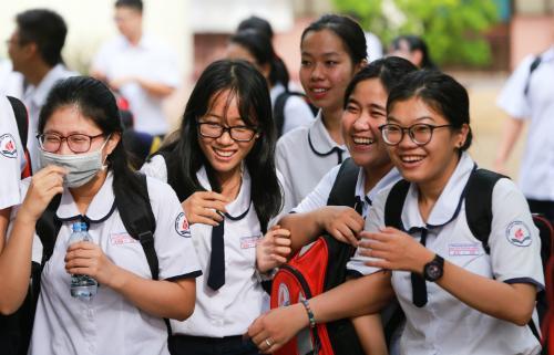 134 học sinh được xét tuyển thẳng đại học