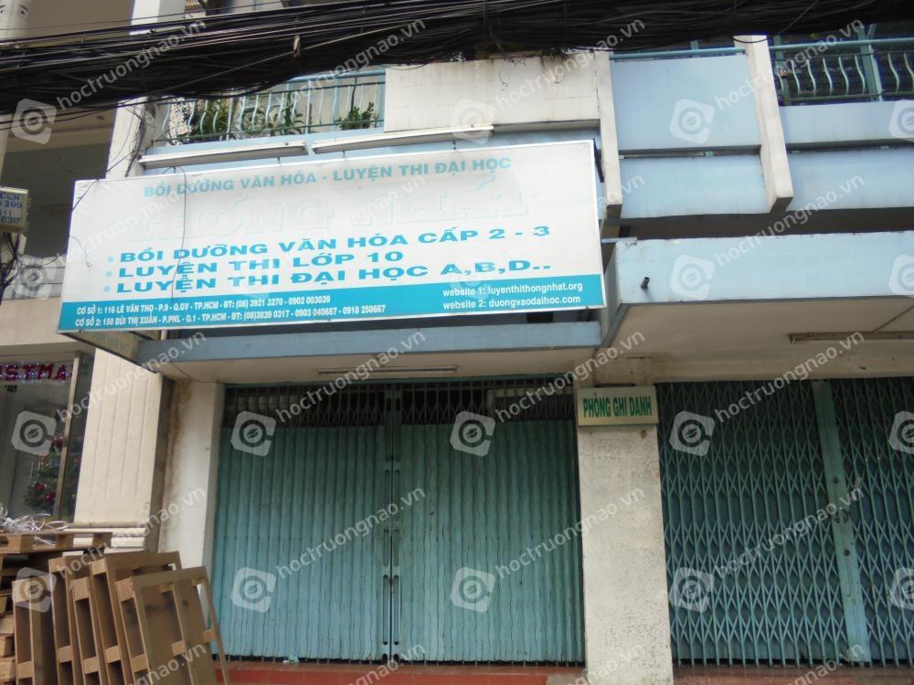 Trung tâm luyện thi đại học Thống Nhất - CS Bùi Thị Xuân