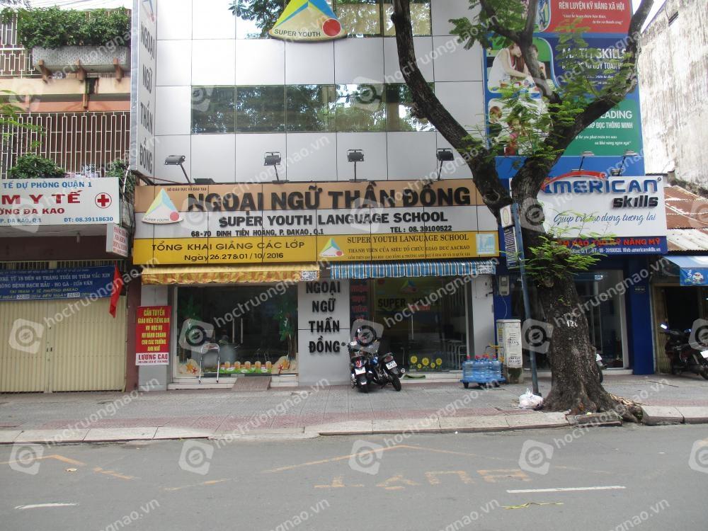 Trường ngoại ngữ Thần Đồng - Super Youth Language School
