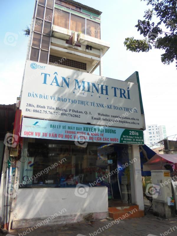 Trung tâm đào tạo thực tế nghiệp vụ Xuất nhập khẩu Tân Minh Trí - TMT